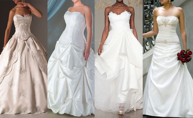 Image of wedding dresses