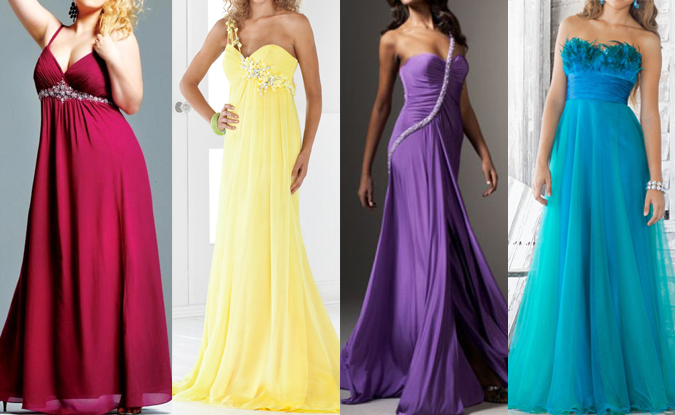 Image of prom and evening dresses